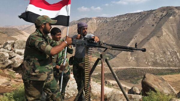 El Ejército sirio expulsa a los terroristas de la provincia de Deraa - Sputnik Mundo