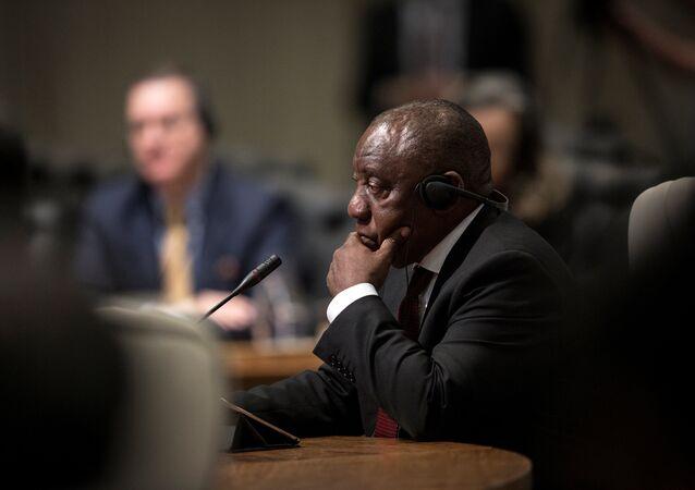 Cyril Ramaphosa, presidente de Sudáfrica