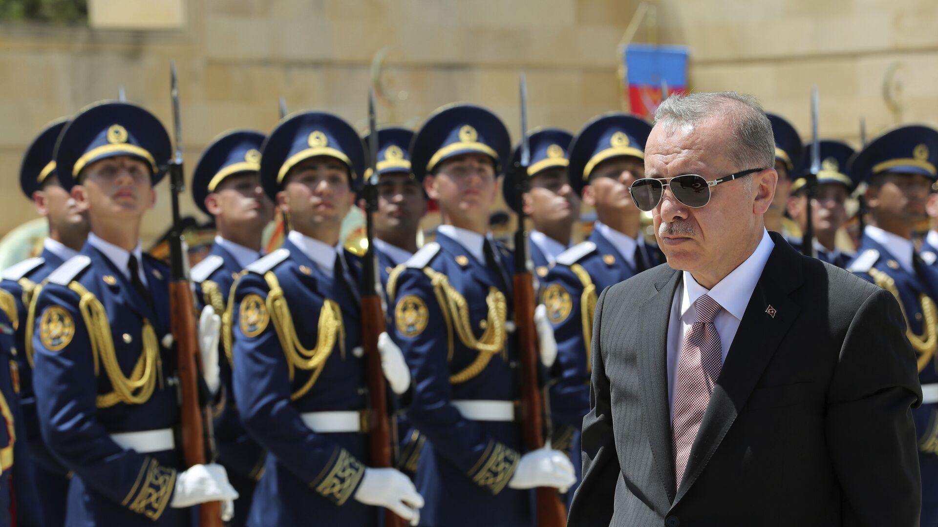 Recep Tayyip Erdogan, presidente de Turquía - Sputnik Mundo, 1920, 15.07.2021