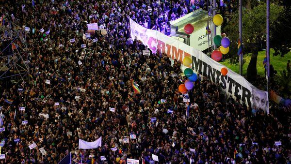 Activistas LGBT protestan contra la nueva enmienda a la ley de maternidad de Israel - Sputnik Mundo