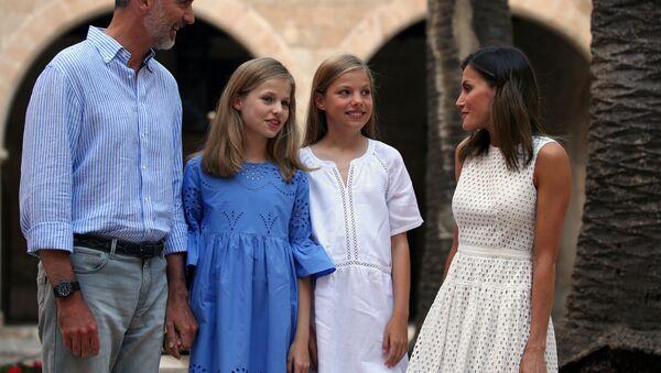 La princesa Leonor y la infanta Sofía - Sputnik Mundo