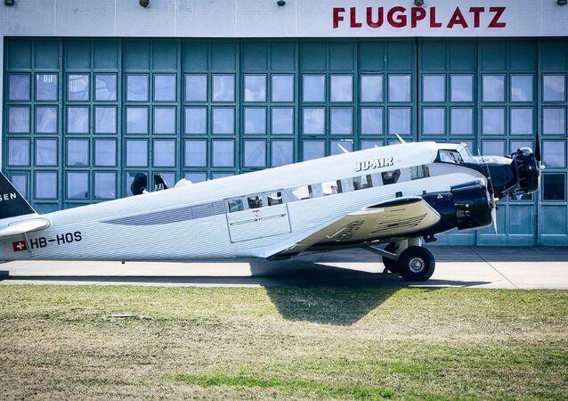 Un avión Junkers Ju-52
