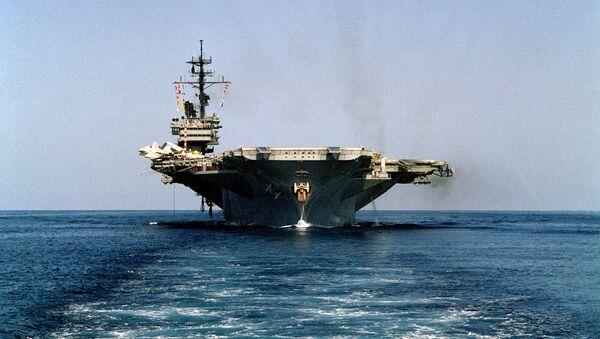 El portaviones estadounidense USS America (archivo) - Sputnik Mundo