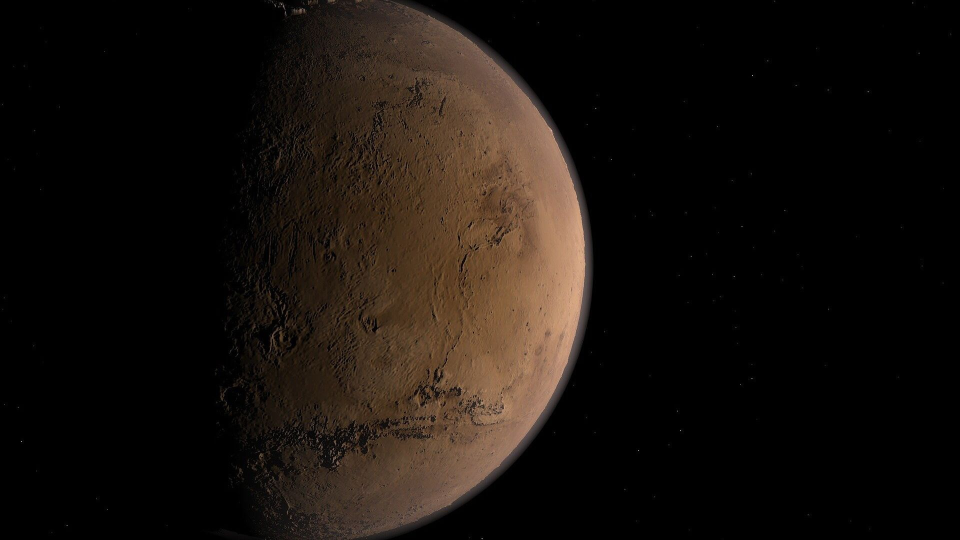 Marte (imagen referencial) - Sputnik Mundo, 1920, 21.02.2021