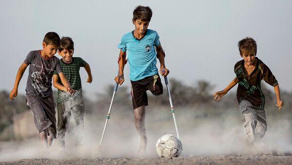 'Deseo de vivir', la imagen del fotógrafo iraquí Taisir Mahdi - Sputnik Mundo