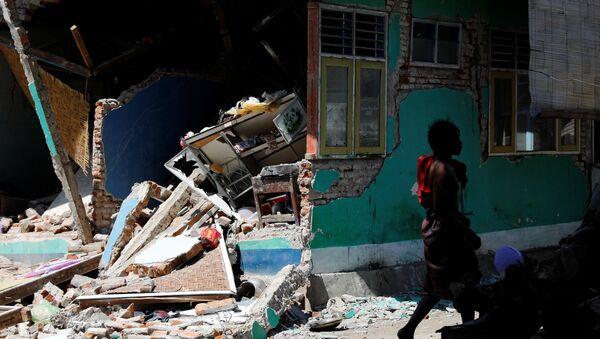 La isla de Lombok de Indonesia tras el terremoto - Sputnik Mundo