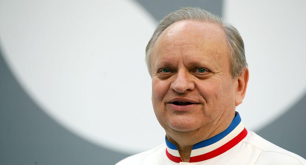 Joel Robuchon, el afamado chef francés