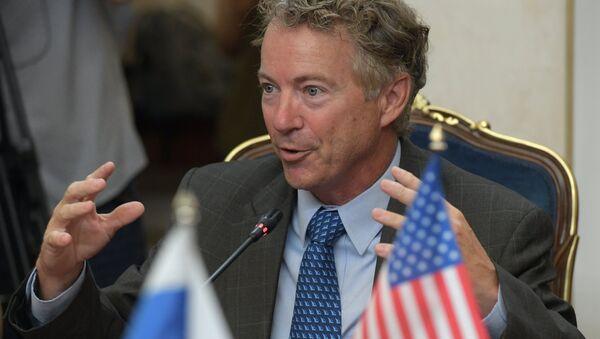 Rand Paul, el senador republicano estadounidense - Sputnik Mundo