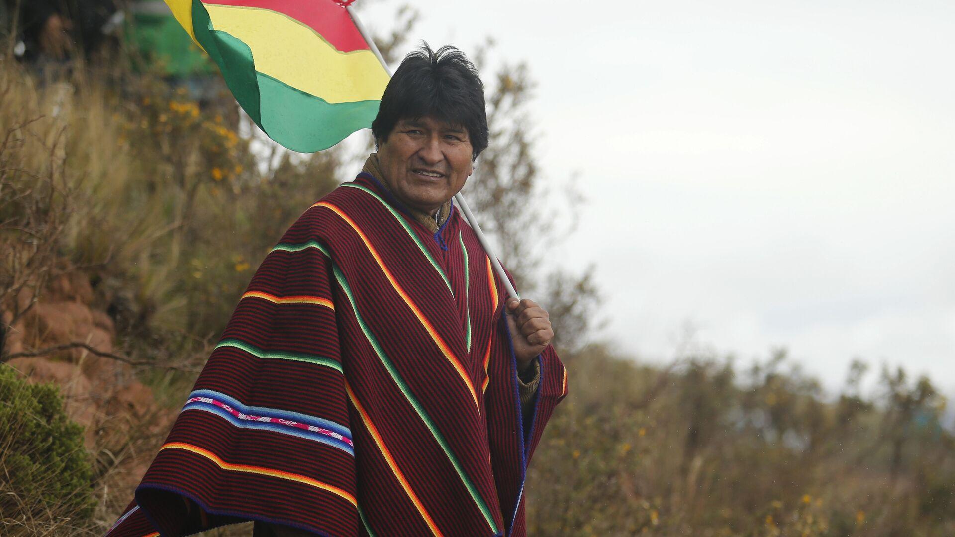 Evo Morales, expresidente de Bolivia - Sputnik Mundo, 1920, 04.05.2021