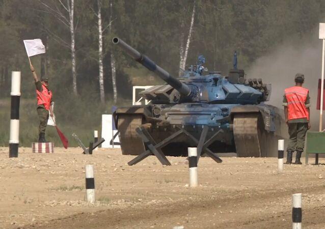 Blindados en acción: la apasionante séptima jornada del Biatlón de tanques