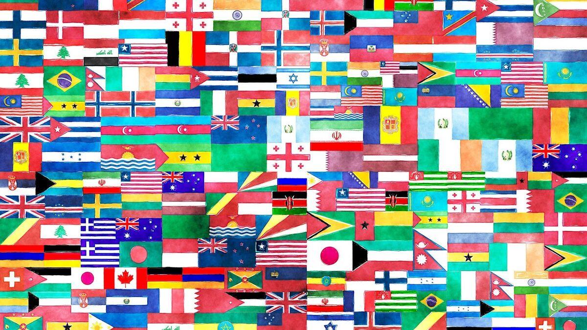 banderas de paises verde blanco y rojo