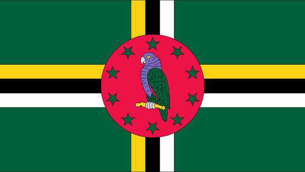 La bandera de Dominica - Sputnik Mundo