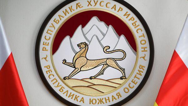 El escudo de Osetia del Sur - Sputnik Mundo