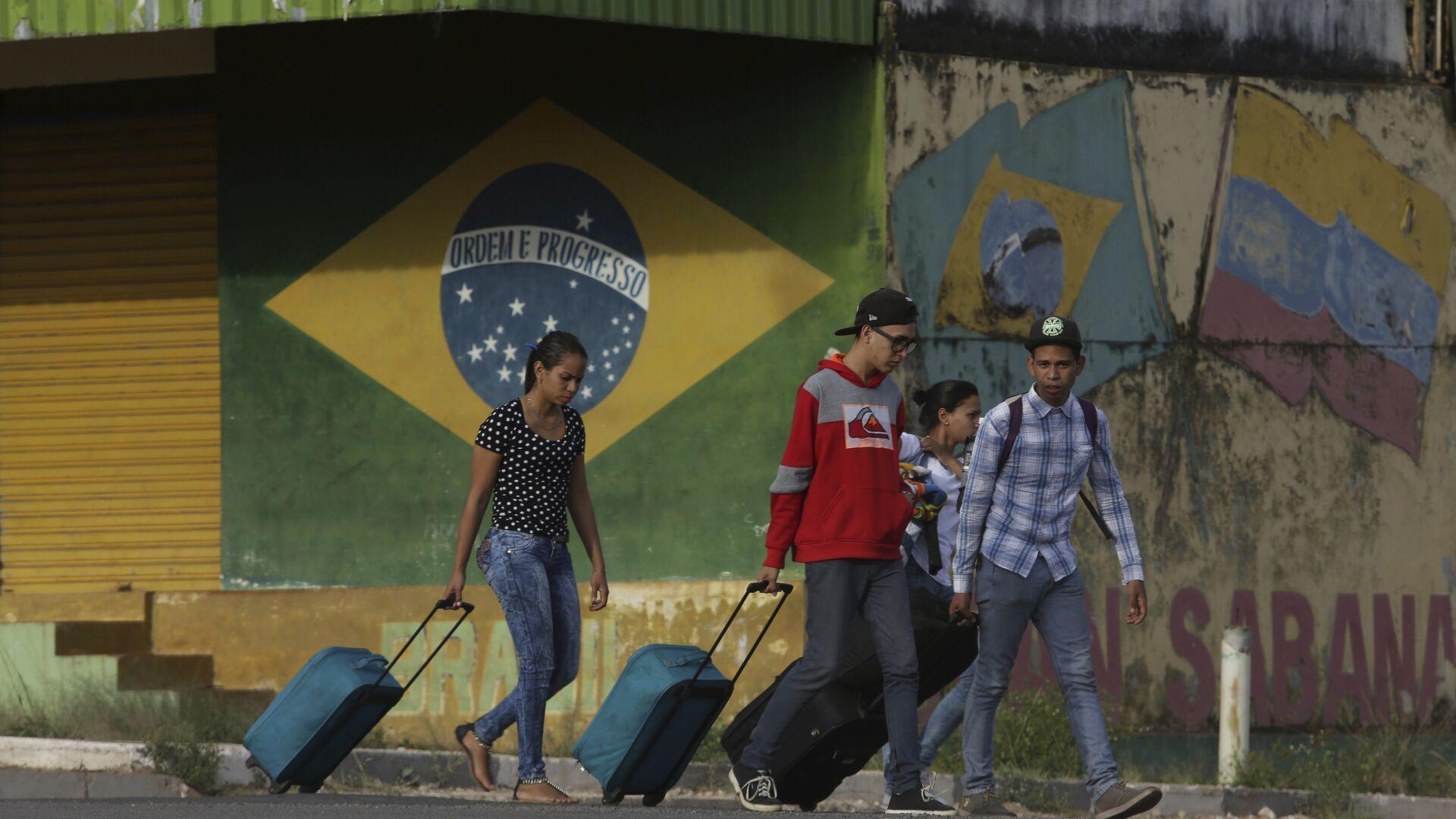 Migrantes venezolanos en el estado de Roraima, Brasil - Sputnik Mundo, 1920, 30.04.2021