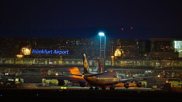 El aeropuerto de la ciudad alemana de Fráncfort del Meno - Sputnik Mundo