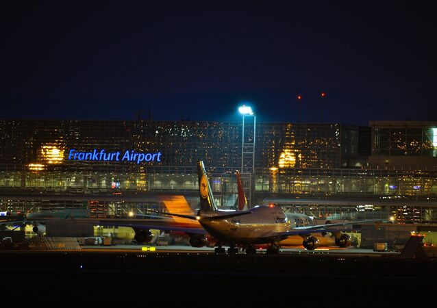 El aeropuerto de la ciudad alemana de Fráncfort del Meno