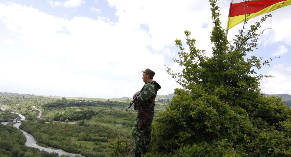 La frontera entre Georgia y Osetia del Sur