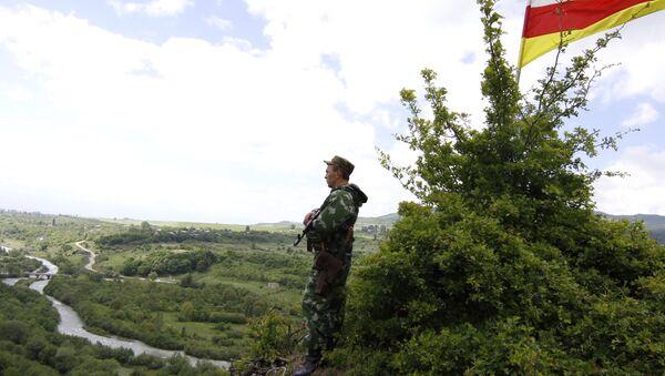 La frontera entre Georgia y Osetia del Sur - Sputnik Mundo