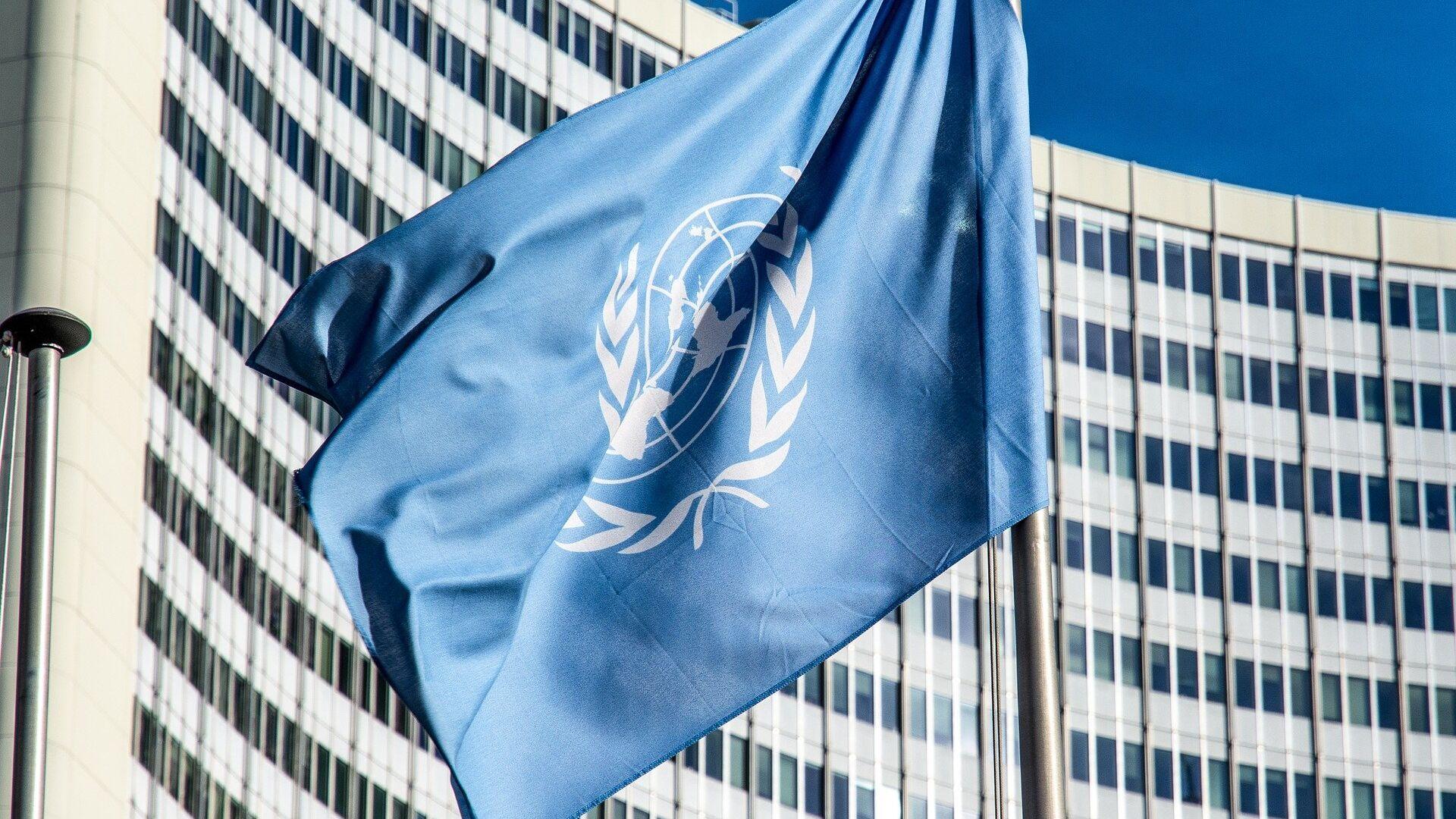 La bandera de la ONU - Sputnik Mundo, 1920, 04.03.2021