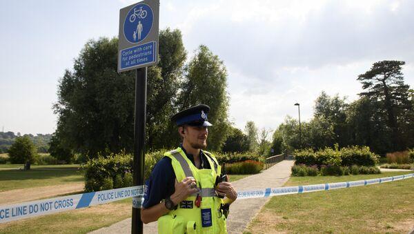 Policía británica en Salisbury, el Reino Unido - Sputnik Mundo