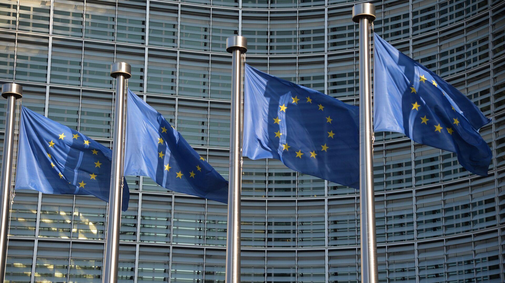 Banderas de la UE - Sputnik Mundo, 1920, 12.04.2021