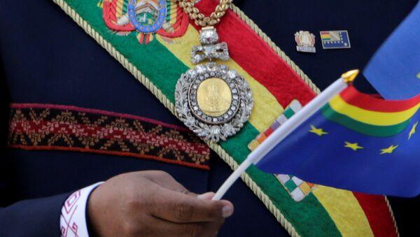 La medalla presidencial boliviana - Sputnik Mundo