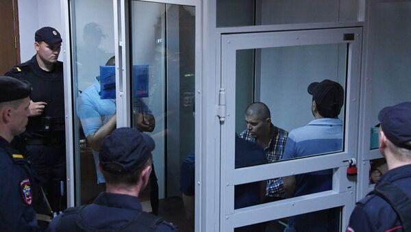 Miembros de la 'banda GTA' en Rusia - Sputnik Mundo