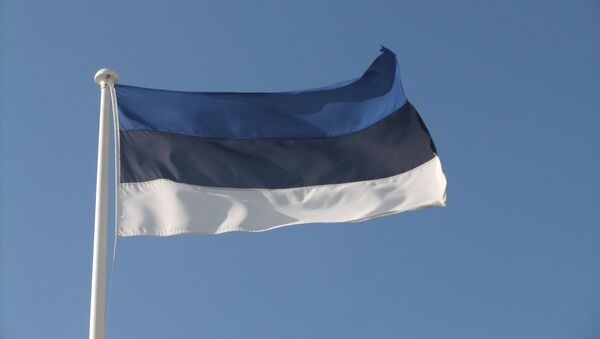 Bandera de Estonia - Sputnik Mundo