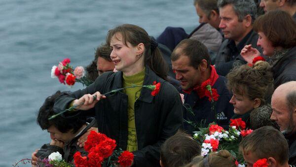 La página más negra en la historia de la Armada rusa: cómo naufragó el submarino Kursk - Sputnik Mundo