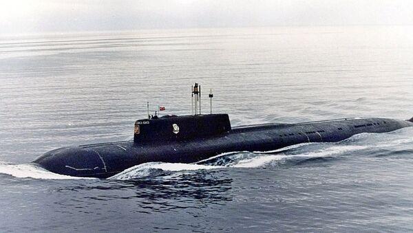 El submarino nuclear Kursk - Sputnik Mundo
