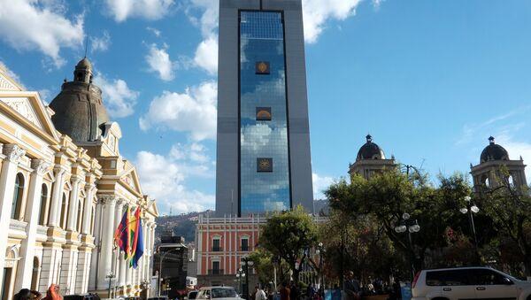 Nuevo palacio presidencial en Bolivia llamado 'La casa grande del Pueblo' - Sputnik Mundo