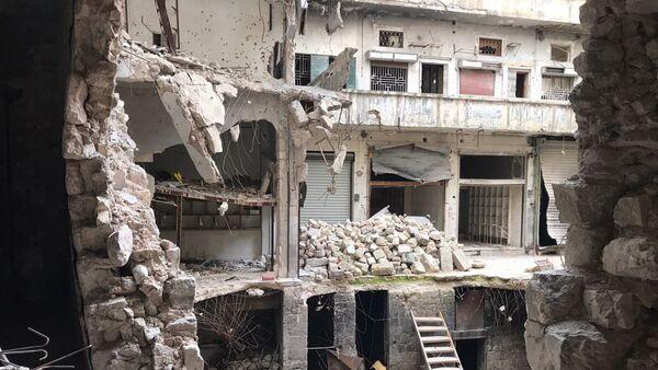Ruinas de la ciudad de Alepo, Siria - Sputnik Mundo
