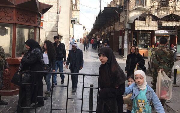 Ciudad de Damasco, Siria - Sputnik Mundo