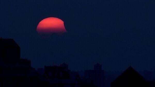 Eclipse solar en China - Sputnik Mundo