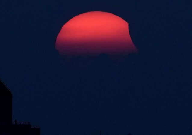 Eclipse solar en China