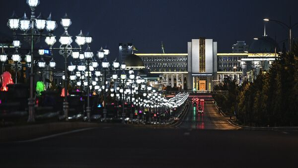 Asjabad, la capital de Turkmenistán - Sputnik Mundo