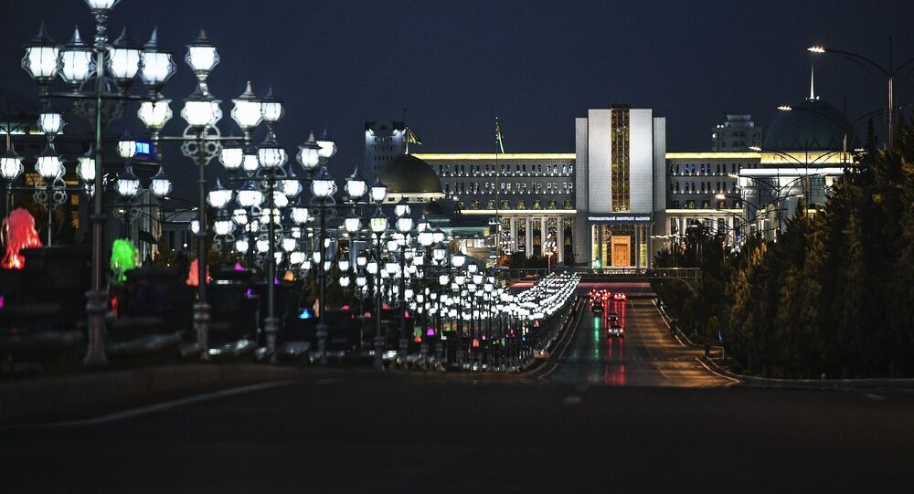 Asjabad, la capital de Turkmenistán