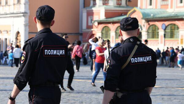 Policías de Moscú (Archivo) - Sputnik Mundo