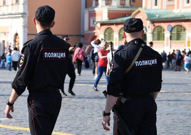 Policías de Moscú (Archivo)