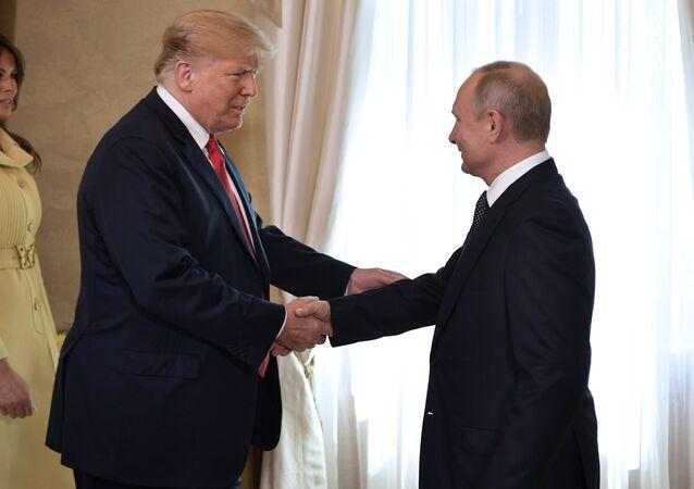 Donald Trump, presidente de EEUU, y Vladímir Putin, presidente de Rusia (archivo)