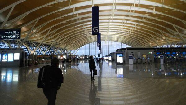 El aeropuerto de Shanghái, foto de archivo - Sputnik Mundo