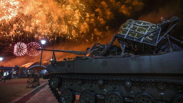 La ceremonia de clausura de los IV Juegos Militares Internacionales Army 2018 en Rusia - Sputnik Mundo