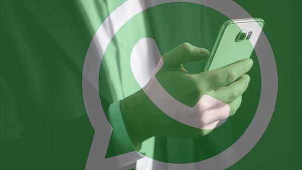 El logo de WhatsApp - Sputnik Mundo
