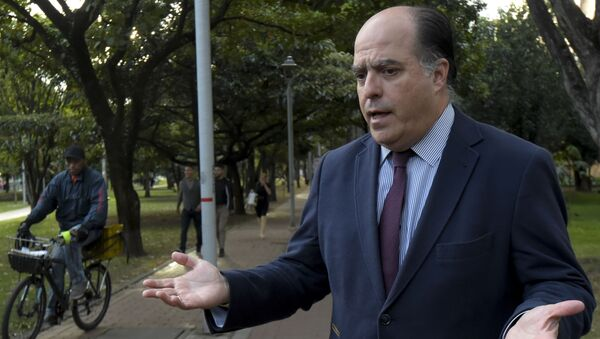 Julio Borges, diputado opositor venezolano - Sputnik Mundo