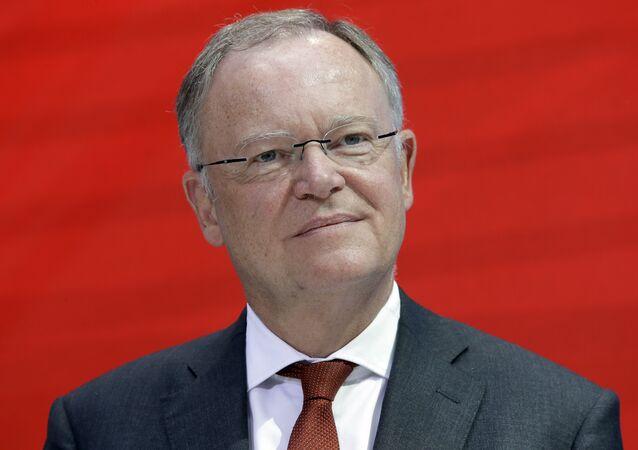 Stephan Weil, ministro-presidente de la Baja Sajonia (Alemania)