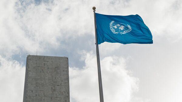 La bandera de la ONU (imagen referencial) - Sputnik Mundo
