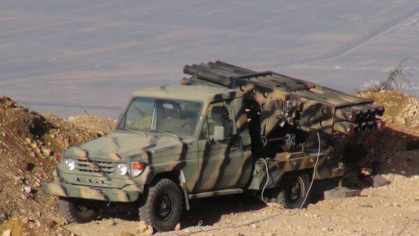 Un sistema de misiles del Ejército sirio - Sputnik Mundo
