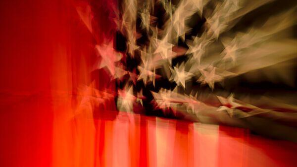 Bandera de EEUU - Sputnik Mundo