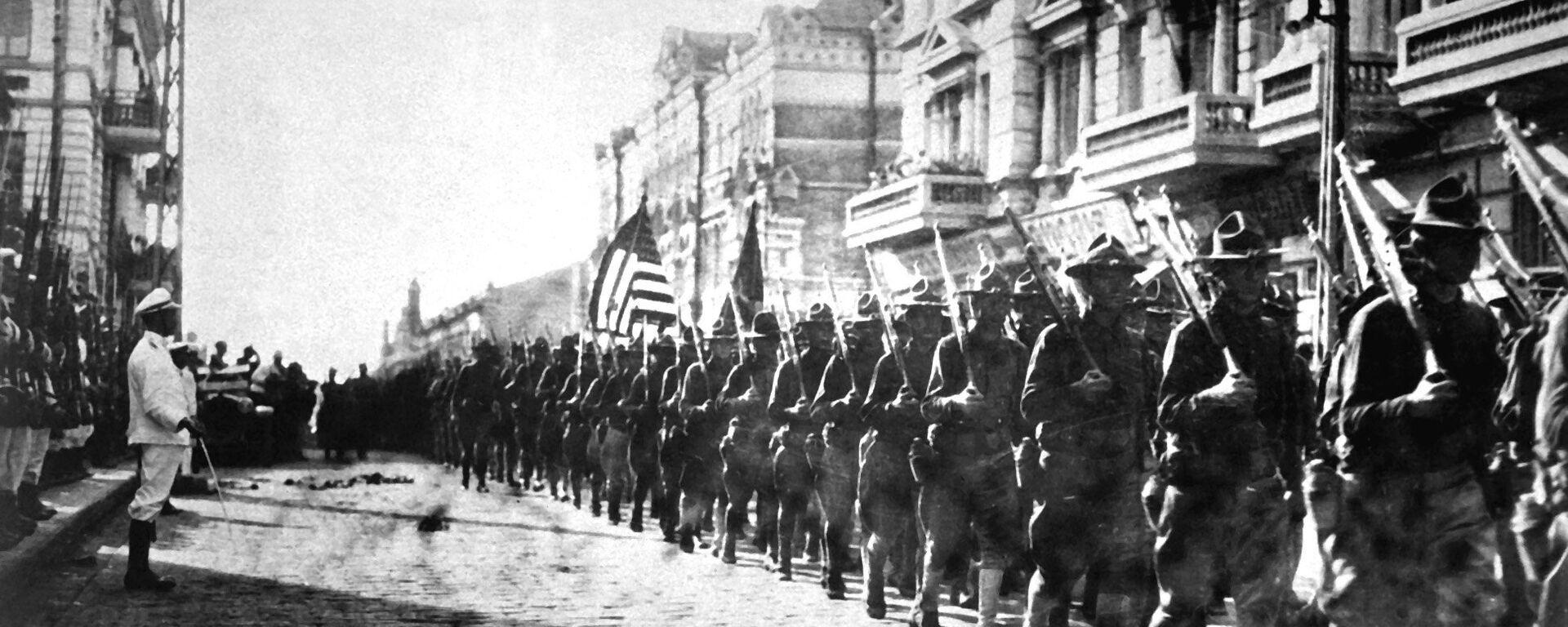 Tropas estadounidenses en Vladivostok - Sputnik Mundo, 1920, 15.08.2018
