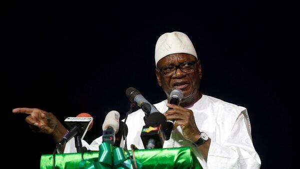 Ibrahim Boubacar Keita, presidente de Malí - Sputnik Mundo